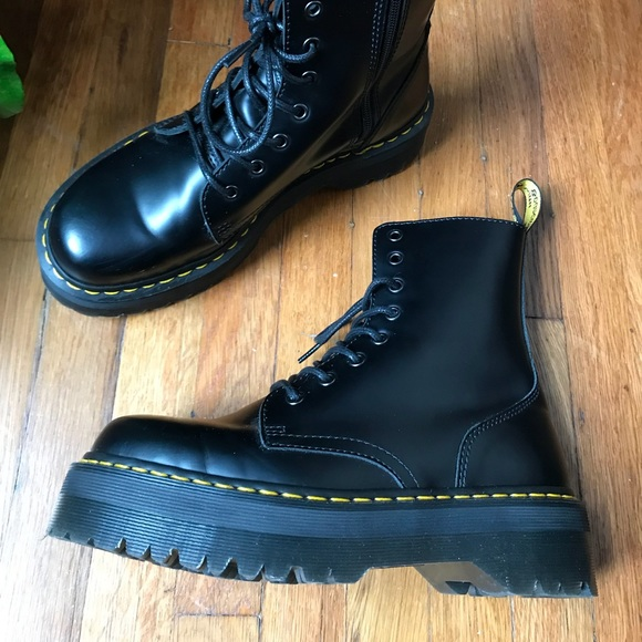 19b8fd5703 Dr. Martens Shoes | Dr Martens Jadon Boot Womens 10mens 9 | Poshmark
